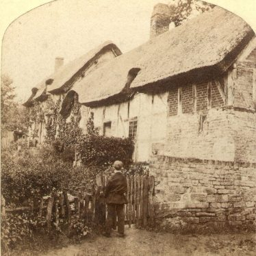Shottery.  Ann Hathaway's cottage