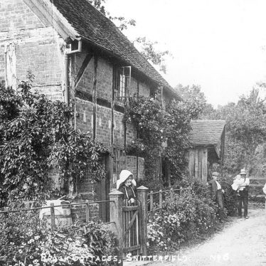 Snitterfield.  Brooke Cottages