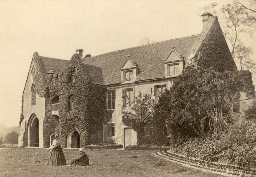 The Old Gatehouse, Stoneleigh Abbey.  1856 |  IMAGE LOCATION: (Warwickshire County Record Office)