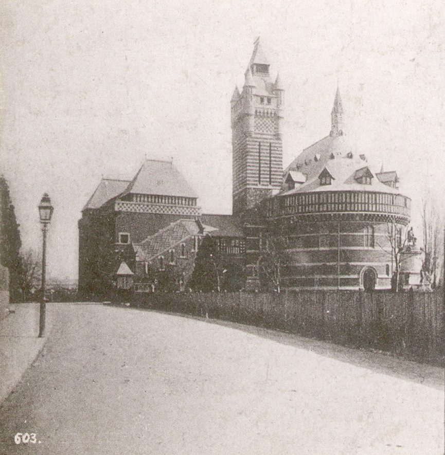 Memorial Theatre, Stratford upon Avon.  1860s |  IMAGE LOCATION: (Warwickshire County Record Office)