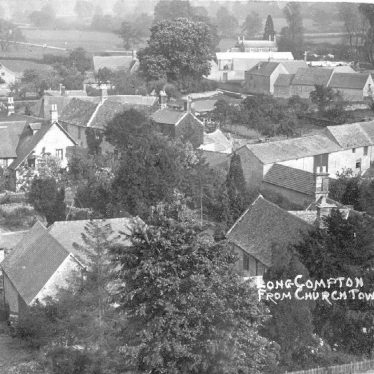 Long Compton.  Village view