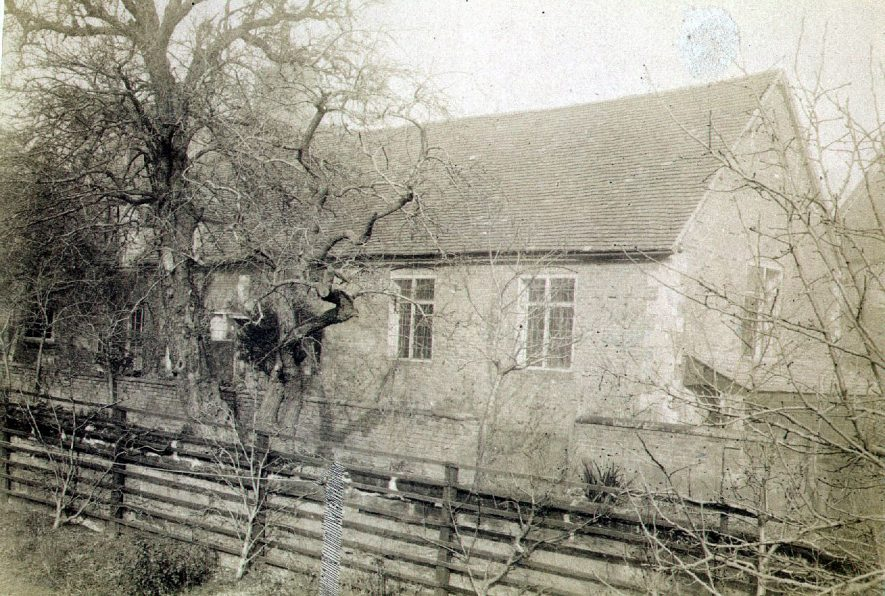 The Friends Meeting House, High Street, Warwick.  1890s |  IMAGE LOCATION: (Warwickshire County Record Office)