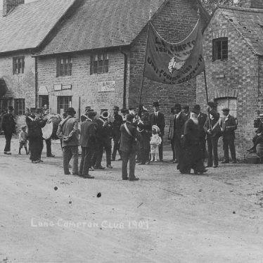 Long Compton.  Procession of Assurance Society