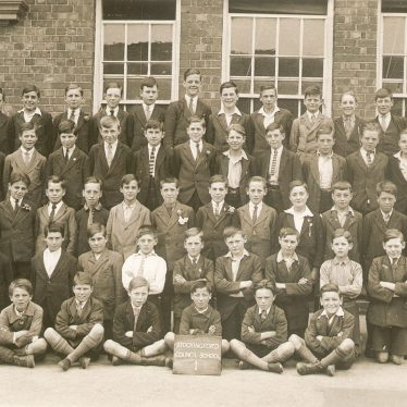 Nuneaton.  Pupils at Stockingford School