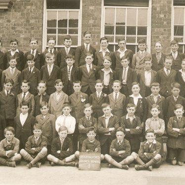 Nuneaton.  Pupils at Stockingford School