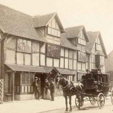 Stratford upon Avon.  Henley Street