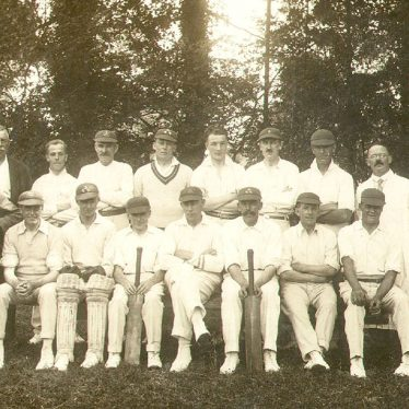 Barford.  Cricket Club Team