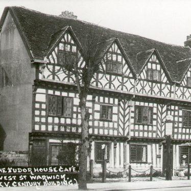 Warwick.  Tudor House Café, West Street