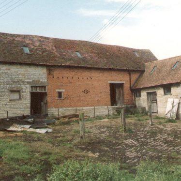 Temple Grafton.  Church Farm buildings