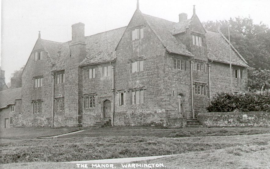 Warmington Manor.  1920s |  IMAGE LOCATION: (Warwickshire County Record Office)