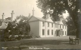 Wellesbourne House, Wellesbourne.  1910s |  IMAGE LOCATION: (Warwickshire County Record Office)