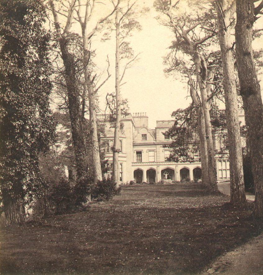 The House, Guys Cliff, Warwick.  1870 |  IMAGE LOCATION: (Warwickshire County Record Office)