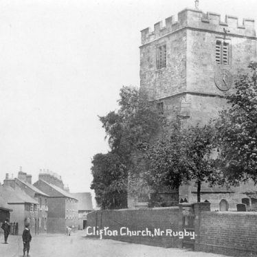 Clifton upon Dunsmore.  Church