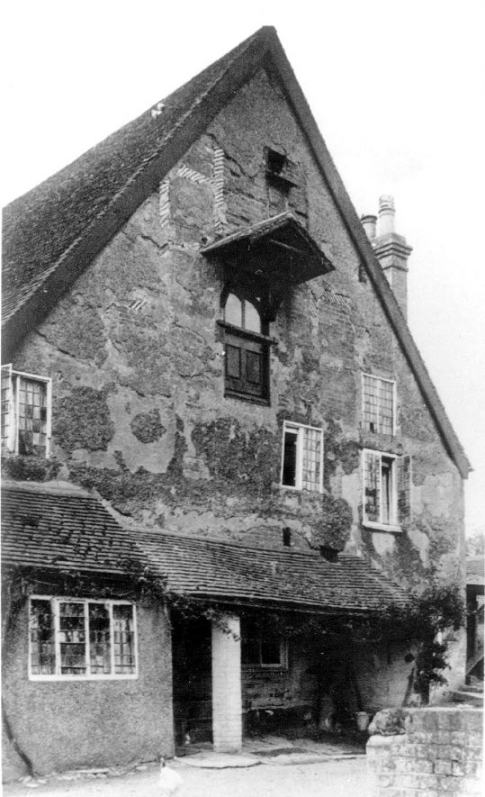 The miller's house at Guy's Cliffe, Warwick.  1930s |  IMAGE LOCATION: (Warwickshire County Record Office)