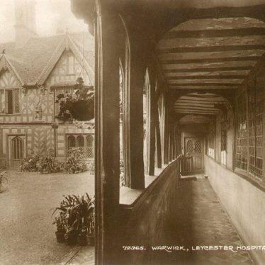 Warwick.  Lord Leycester Hospital