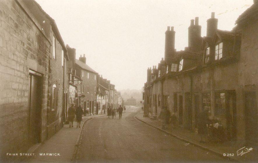 Friar's Street, Warwick.  1920s |  IMAGE LOCATION: (Warwickshire County Record Office)