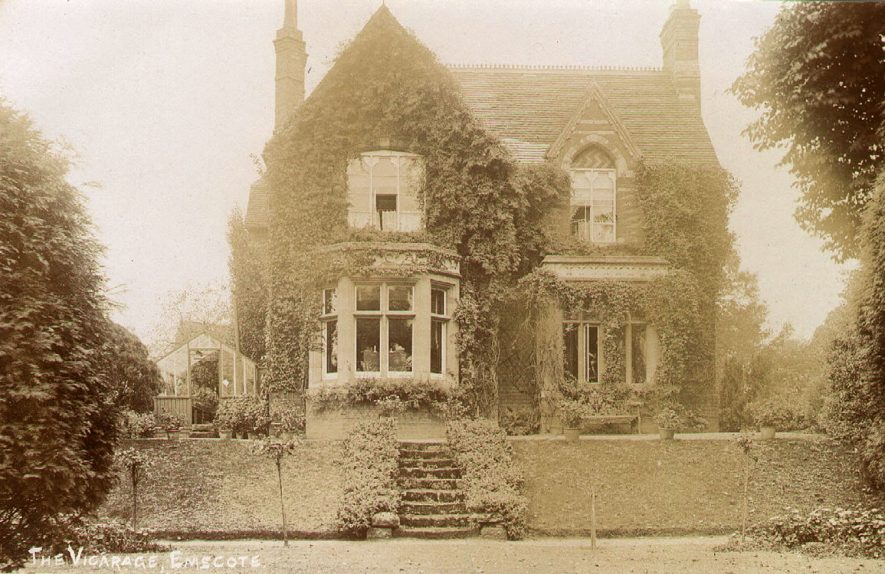 Emscote Vicarage, Warwick.  1920s |  IMAGE LOCATION: (Warwickshire County Record Office)