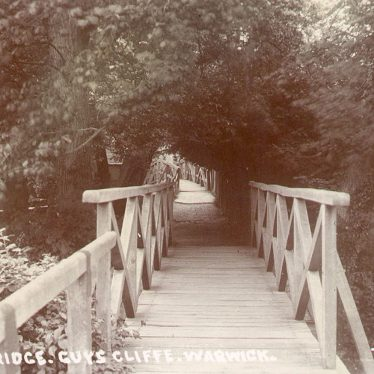 Warwick.  Bridge at Guy's Cliffe