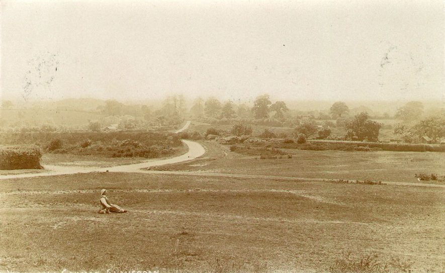 Yarningale Common, Claverdon.  1900s |  IMAGE LOCATION: (Warwickshire County Record Office)