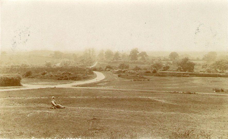Yarningale Common, Claverdon.  1900s |  IMAGE LOCATION: (Warwickshire County Record Office)