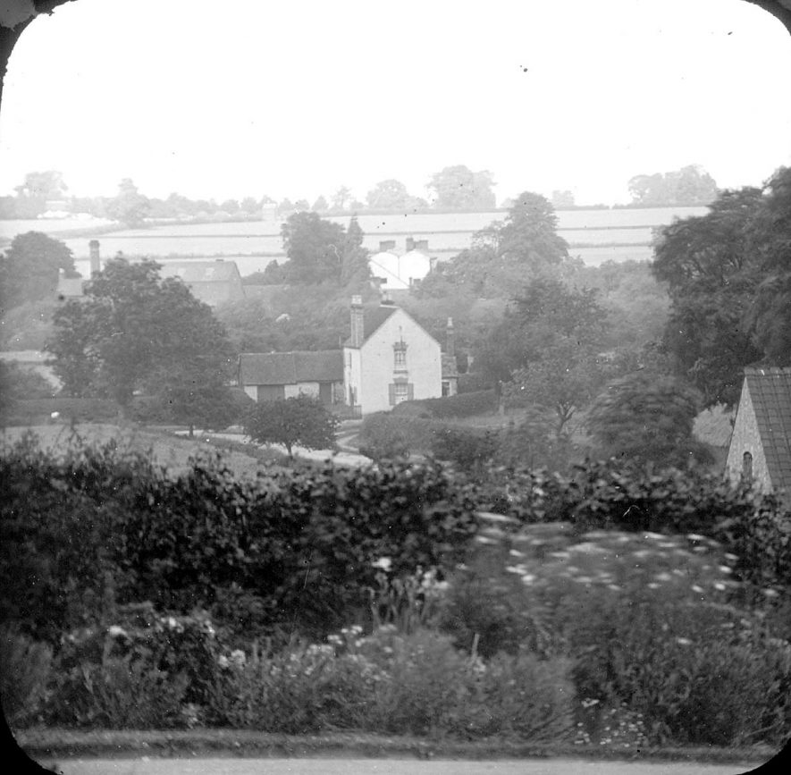 Clifford Chambers, as seen from Red Hill House.  1900 |  IMAGE LOCATION: (Warwickshire County Record Office)
