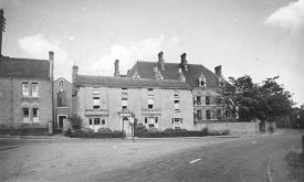 Our Lady's Convent, from Daventry Street, Southam.  1930s |  IMAGE LOCATION: (Warwickshire County Record Office)