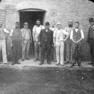 Clifford Chambers.  R. S. Smith and mill workers