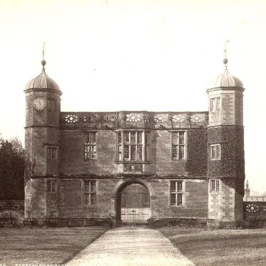 Charlecote Park. The gatehouse/lodge
