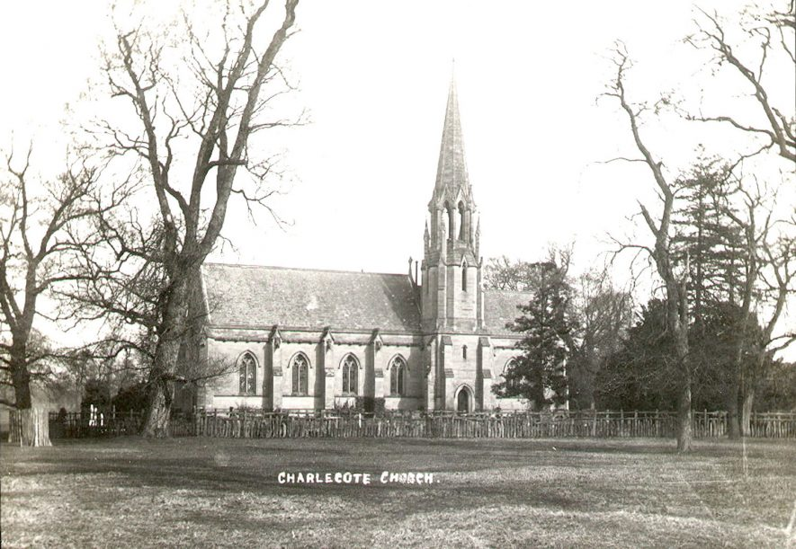 St Leonard's church, Charlecote, from the south.  1900s |  IMAGE LOCATION: (Warwickshire County Record Office)