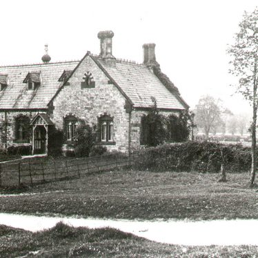 Chesterton.  School House from The Green