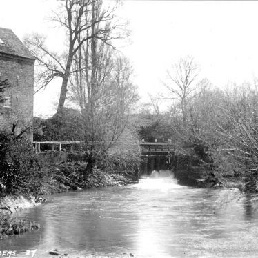 Clifford Chambers.  Mill and River Stour