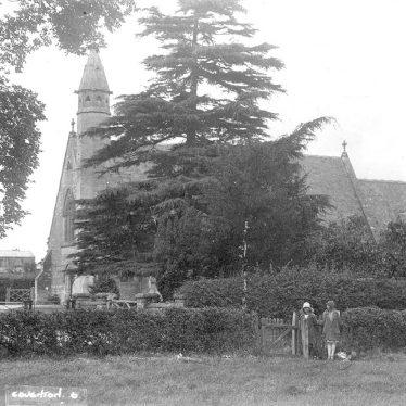 Coughton.  St Peter, Paul & Elizabeth Roman Catholic church