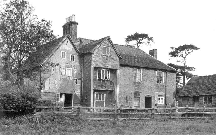 Exterior of Hawkswell Hall, Coleshill.  1974 |  IMAGE LOCATION: (Warwickshire County Record Office)