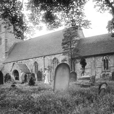 Curdworth.  St Nicholas's church