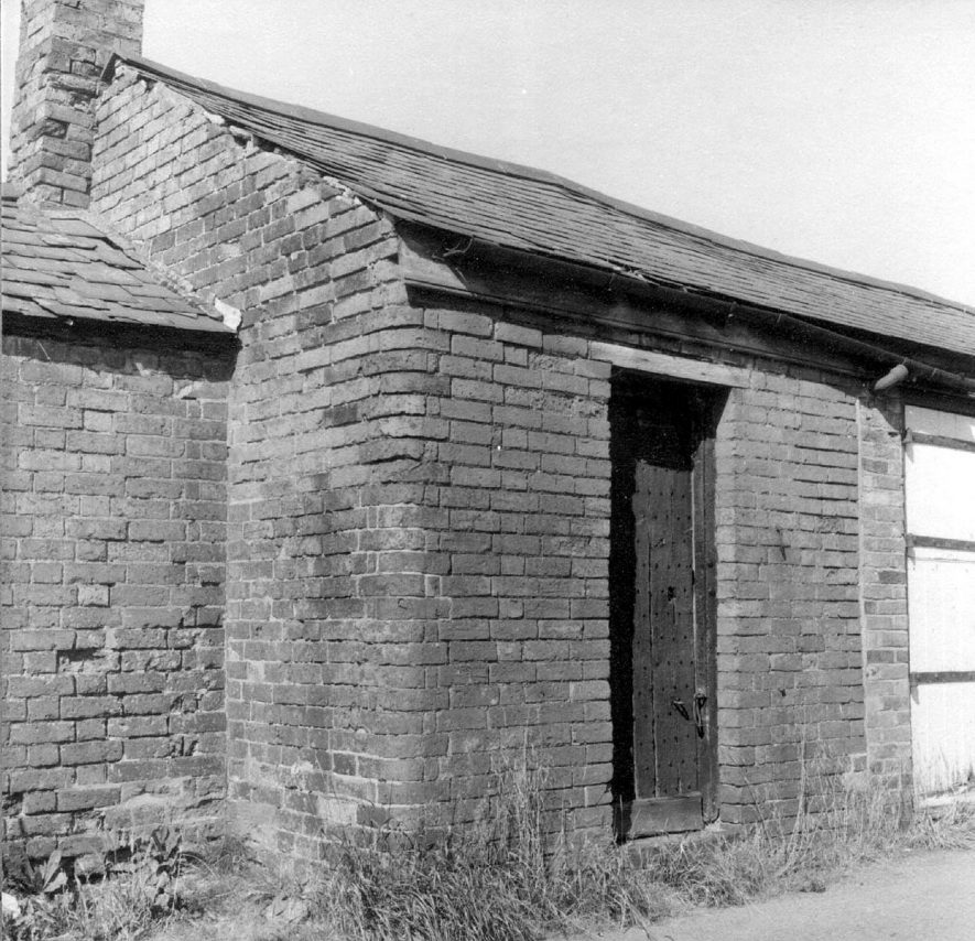 Exterior of the old Lock Up at Dunchurch.  1966 |  IMAGE LOCATION: (Warwickshire County Record Office)