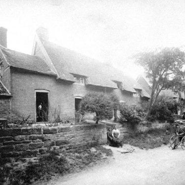 Cubbington.  Church Lane (previously Lutterworth End)