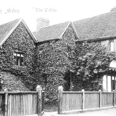 Henley in Arden.  The Gables