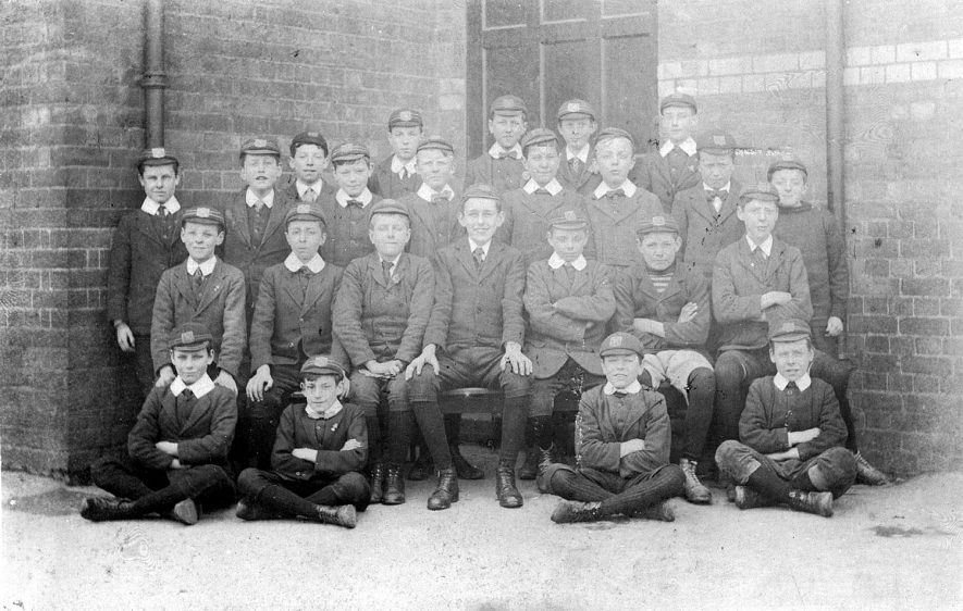 Murray School Monitors, Rugby.  Easter 1916 |  IMAGE LOCATION: (Warwickshire County Record Office)