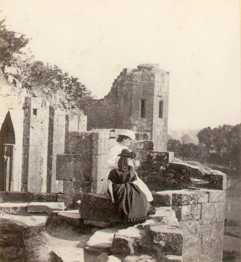 The Strong Tower also called Mervyn's Tower at Kenilworth Castle.  1870s |  IMAGE LOCATION: (Warwickshire County Record Office)