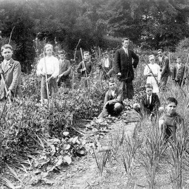Lapworth.  School garden