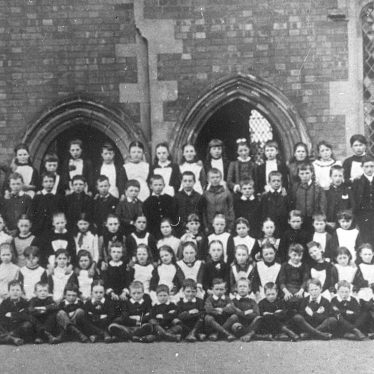 Cubbington.  School group