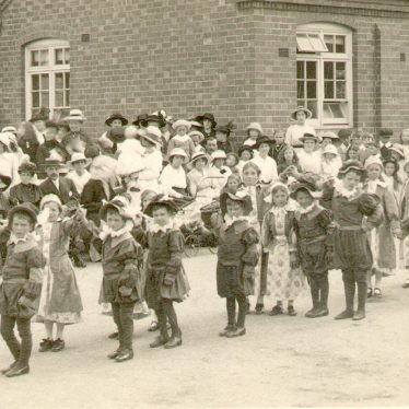 Studley.  Infants dancing for Sir Roger de Coverley