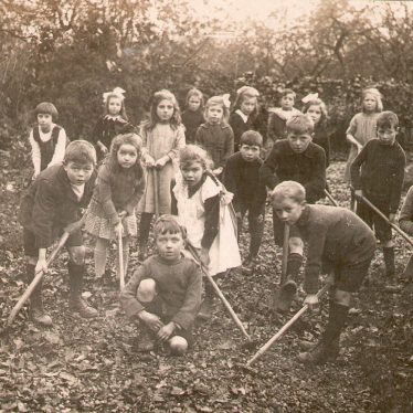 Studley.  Gardening class