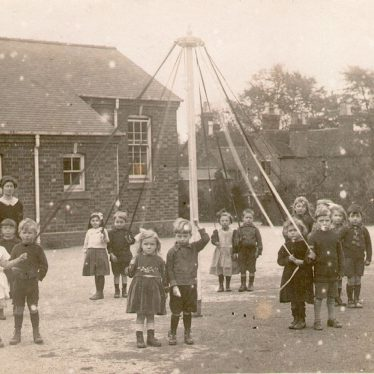Studley.  Children with May pole