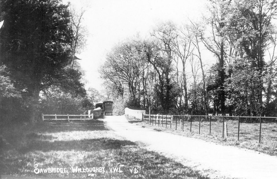 Sawbridge, Willoughby.  1920s |  IMAGE LOCATION: (Warwickshire County Record Office)