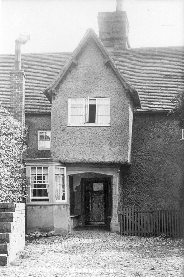 Vale House, Willoughby.  1920s |  IMAGE LOCATION: (Warwickshire County Record Office)
