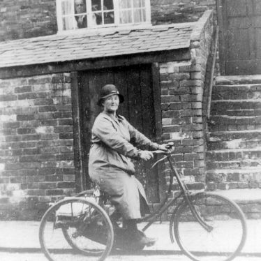 Cubbington.  Mrs. Bastock, newspaper deliverer