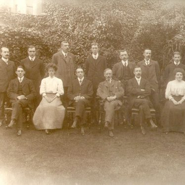 Warwickshire.  Education office staff