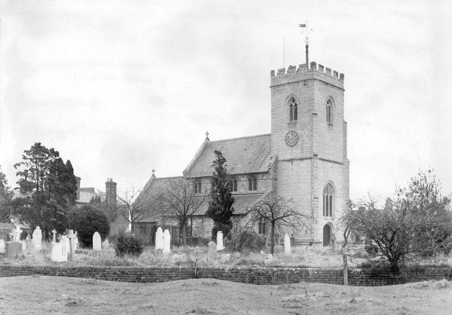 Claverdon Church.  1960s |  IMAGE LOCATION: (Warwickshire County Record Office)