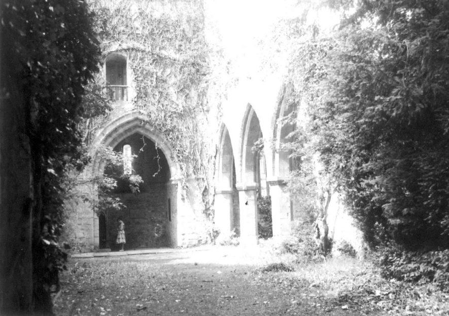 Holy Trinity parish church, Ettington.  1960s    IMAGE LOCATION: (Warwickshire County Record Office)